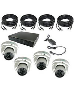 Security Camera System 4-FULLHD-VD