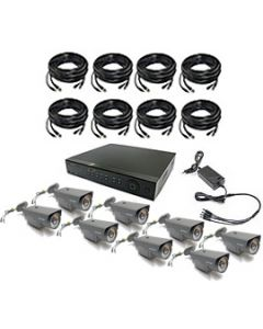 Security Camera System 8-FULLHD