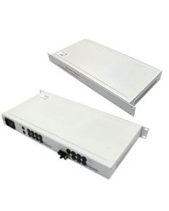 """19"""" Multiplexer 1-ch video-multimode transmitter and receiver"""