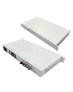"""19"""" Multiplexer 8-ch video-multimode transmitter and receiver"""