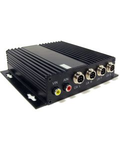 Niceview 4-channel rear view camera quad box