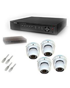 Security Camera System 4-FULLHD-VD-IP