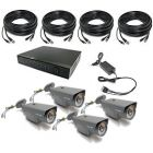 Security Camera System 4-FULLHD