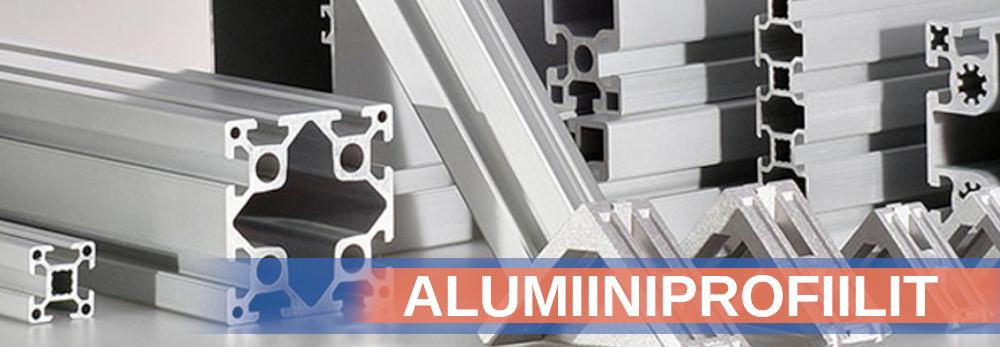 Alumiiniprofiilit ja tarvikkeet